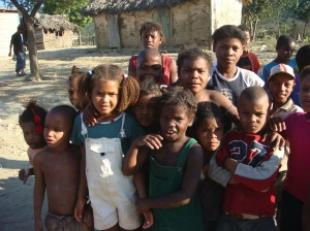 The children of the Dominican Republic