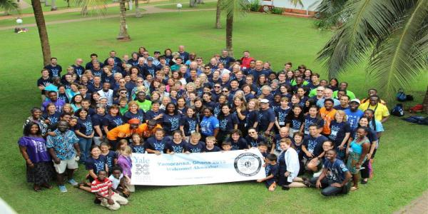 The Yale Alumni Service Corps is returning to Yamoransa in May, 2014